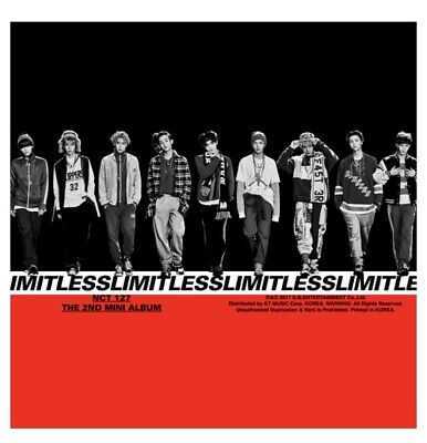 NCT 127 - 2nd Mini Album [ NCT#127 LIMITLESS ] Sealed   Random Version CD+etc