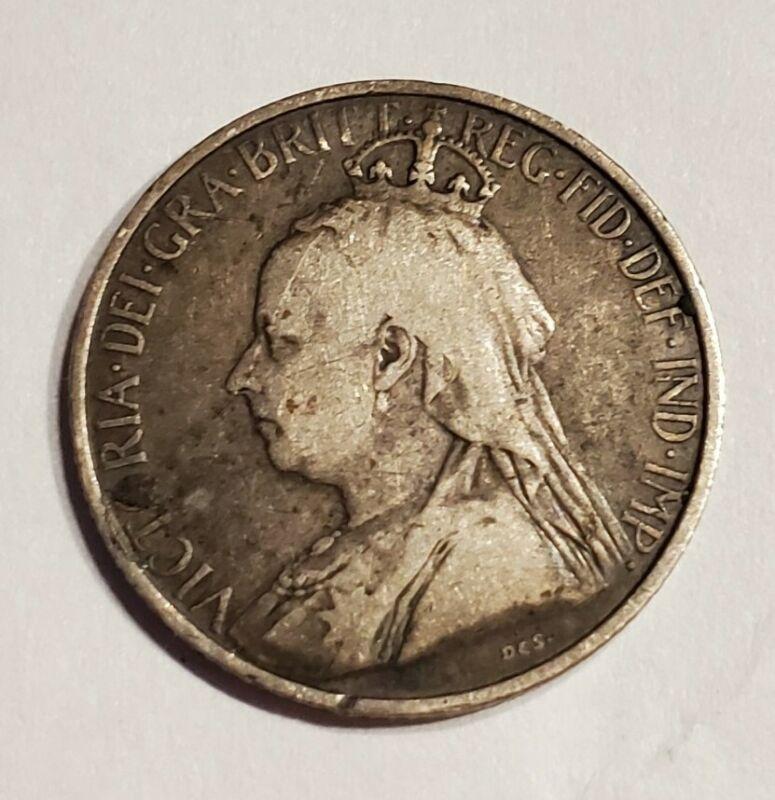 1901 Cyprus 4 1/2 Piastres