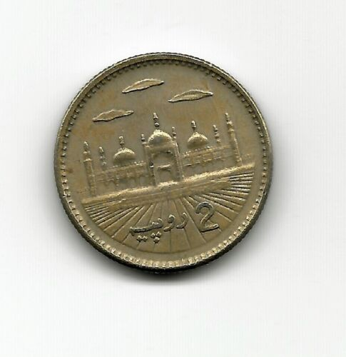 World Coins - Pakistan 2 Rupees 2001 Coin KM# 64
