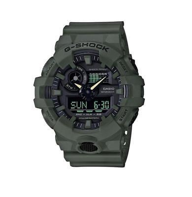 Casio G-SHOCK GA700UC-3A Super Illuminator 3D Ana-Digital Men's Watch   GREEN