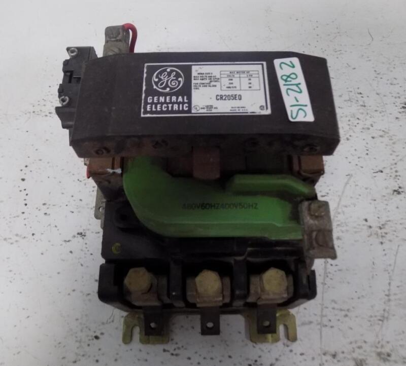 GENERAL ELECTRIC NEMA SIZE 3 600V 100A MOTOR STARTER CR205E0