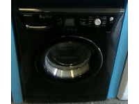 a709 black beko 8kg 1200spin A*A rated washing machine comes with warranty can be delivered