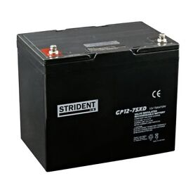 NEW 75Ah Strident mobility scooter battery - 1 year guarantee - Free delivery up to 40 miles