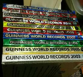 Guiness world record books