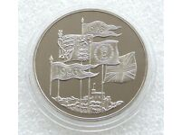 Capsuled 1996 Proof £5 Coin from a Royal Mint Set.