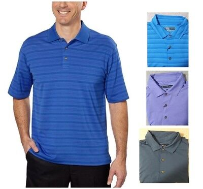 Pebble Beach Men's Dry-Luxe Performance Golf Polo Shirt ()