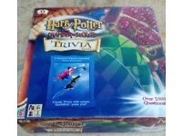 Harry Potter Trivia board game. (Chamber Of Secrets Quidditch them trivia game) - super condition