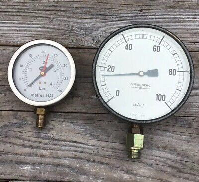 BUDENBERG ENGINEERING GAUGE & BRANNAN ENGINEERING GAUGE