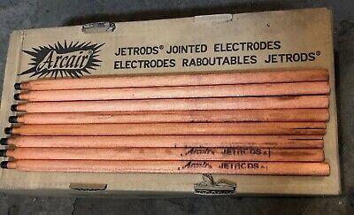 100 Arcair Jetrods Gouging Electrode Rod 24-082-003 12 X 14