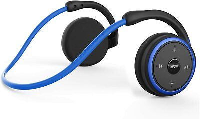 LEVIN Small Bluetooth Headphones Sports Wireless Headset Behind The Head