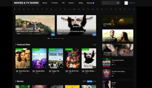 Movies & TV Shows Website + Free Hosting