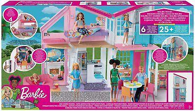 Matell Barbie Malibu House Playset FXG57 Barbie Dream House