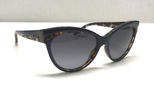 Christian Dior Sauvage1 MB6HD Women Sunglasses Tortoise / Navy Cat Eye UA5-5/16