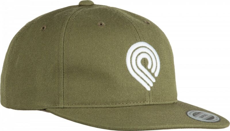 Powell Peralta EMBROIDERED TRIPLE P LOGO Snapback Skateboard Hat MILITARY GREEN