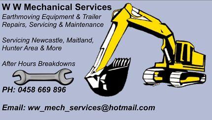 Excavator, tractor, truck, trailer, equipment Maintenance Glendale Lake Macquarie Area Preview