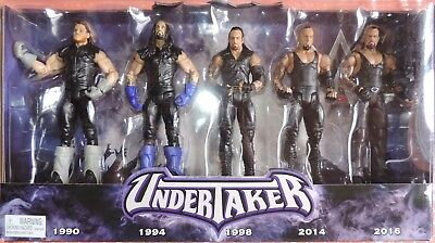 WWE Mattel Network Spitlight Undertaker 5er Pack Thank you! Taker Neu/OVP