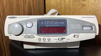 Yorx C1610 Kitchen Stereo Alarm Clock AM/FM Radio Space Saver Camper FREE SHIP