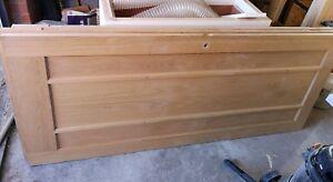 3 x Oak veneer internal doors