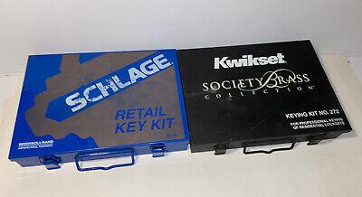 Schlage Retail Key Kit. 40-132 And Kwikset 272 Keying Kits
