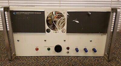 Hp - Agilent - Keysight 5061a Cesium Beam Frequency Standard Untested Option 01