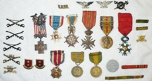 RARE-US-ARMY-COLLECTION-COLONEL-BYRON-LAKIN-BARGAR-SPANISH-AMERICAN-WAR-WWI