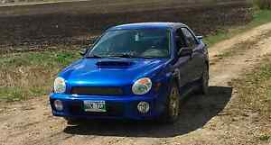 2002 Subaru WRX Sedan