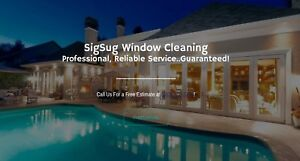 SigSug Window Cleaning   Residential & Commercial