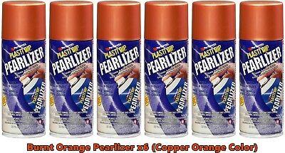Plasti Dip Burnt Orange Pearlizer Spray Can 11289 6 Pack Burnt Copper Orange
