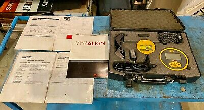Vibralign V180 Laser Shaft Alignment Tool W Case