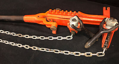 Ridgid C-1070 Chain Vise Soil Pipe Wrench Whandle. Our 2