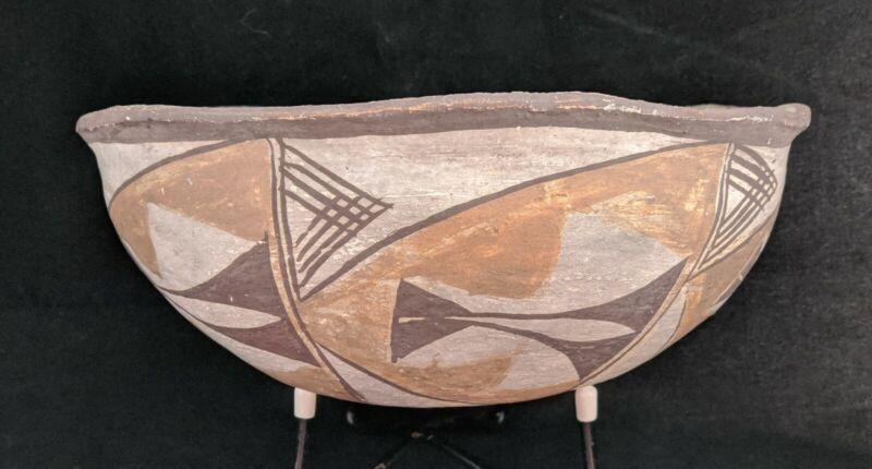 Older Acoma Polychrome Bowl