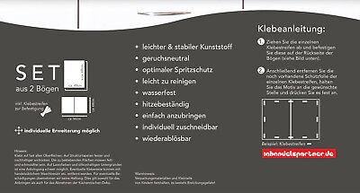 Küchennischen купить 1a küchennischen deko wand küchen spritzschutz wandschutz