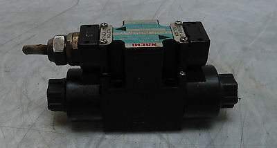 Nachi Solenoid Operated Valve, SL-G01-C6-GR-C1-11, 110V, Used, 120 Day Guarantee