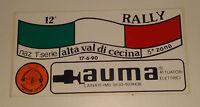 Adesivo Sticker 12° Rally Alta Val Di Cecina 17 Giugno 1990 Cm 14 X 7 Perfetto -  - ebay.it