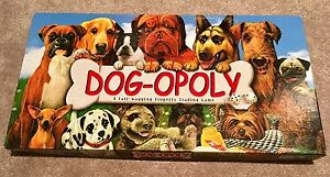 Dog-opoly (Dog themed Monopoly)