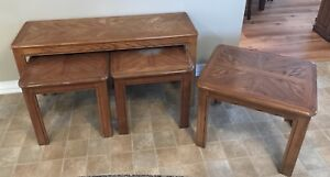 Sofa Table and Three End Tables