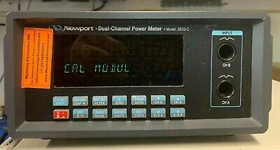 Newport 2832-c Optical Power Meter