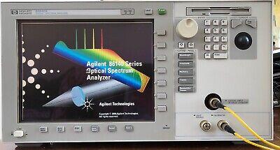 Hewlet Packard Hp 86142a Optical Spectrum Analyzer Opt 004 006 Osa