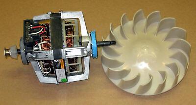 COMBO2 Dryer Motor 279827 Blower Wheel 694089 for Whirlpool Kenmore Roper Estate