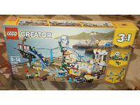 LEGO CREATOR PIRATE ROLERCOASTER  31084  RETIRED   SEALEDFREE SHIP