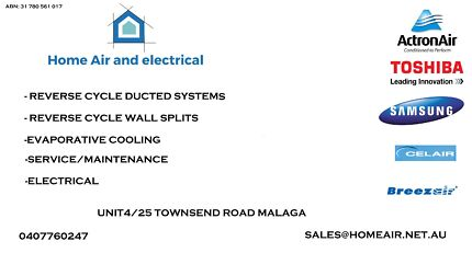 Home Air and Electrical Malaga Swan Area Preview
