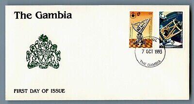 DR WHO 1993 GAMBIA FDC COPERNICUS 450TH ANNIV  C240542