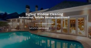 Window & Gutter Cleaning by Hand- SigSug