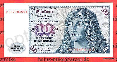 10 DM 1970 CC/J UNC Ros.270 a Pick 31 a Germany - Federal Republic Deutsche Mark