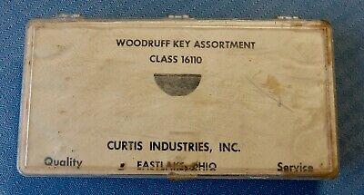 Vintage Woodruff Key Assortment Curtis Ind.t