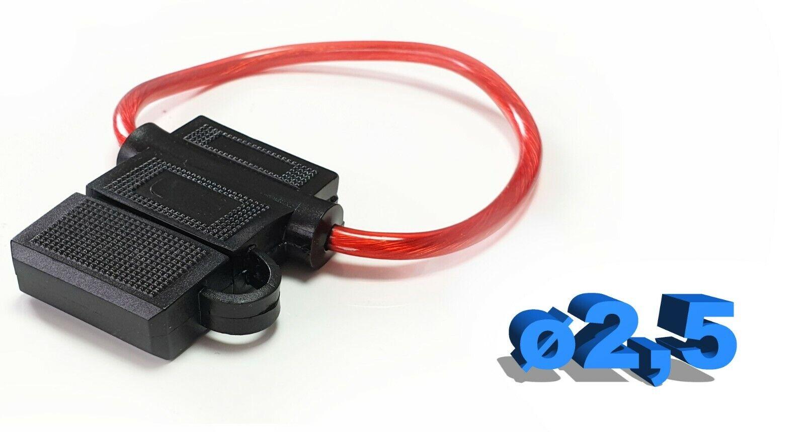 1X KFZ Stromabgreifer Stromdieb Mini Steck Sicherung Verteiler Halter fuse QBL