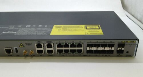 Cisco A901-6CZ-F-A w/active 10 GE and Advanced IP Metro, AC PSU