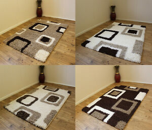 MODERN-LARGE-SHAGGY-BEIGE-CREAM-IVORY-BROWN-VALUE-RUGS