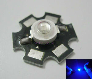 10PCS-3W-Royal-Blue-High-Power-LED-Emitter-700mA-450-455NM-with-20mm-Star-PCB