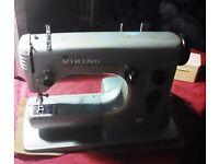 Husquvarna Viking E21 Automatic Electric Sewing Machine, Case & All Accessories Perfect